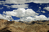 The landscape of Ladakh, also called a alpine desert lies on a elevation of about 3500 m There is hardly any vegetation and summers are short and dry