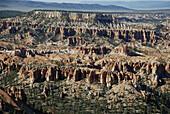 Bryce Canyon Utah, the hoodoos stone pillars plateau