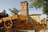 Bentivoglio Bologna, Italy, Villa Smeraldi, the Rustic Civilization Museum