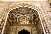 Decoration, Ganesh Pol, Amber Fort, Amer Fort, Jaipur, Rajasthan, India