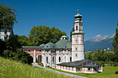 Church of San carlos. Valley Inn. Volders. Austrian Tyrol. Austria. Europe.