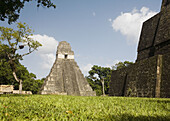 Guatemala, Peten, Tikal, Templo del Gran Jaguar