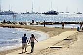 Alicante beach, Seascape in the city