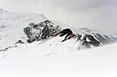 Snow-covered mountains, Hintertux, Tyrol, Austria
