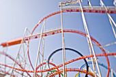 Rollercoaster, Oktoberfest, Munich, Bavaria, Germany