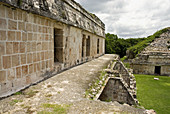 Mayan ruins of Kabah. Puuc Road. Yucatan. Mexico
