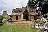 Mayan ruins. Labna. Puuc Road. Yucatan. Mexico