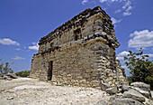 Coba, ruined city of the Pre-Columbian Maya civilization. Quintana Roo, Mexico