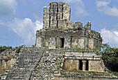Edzná, Maya archaeological site. Campeche, Mexico