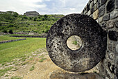 Xochicalco pre-Columbian archaeological site. Morelos, Mexico