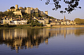 Chinon is on the World Heritage list of UNESCO