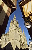 Saint Peter's cathedral, Vannes, Morbihan, France