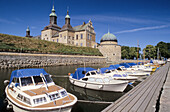 Boats in front of the castle, Vadstena, Sweden