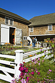 Produce Market, Canterbury Shaker Village, New Hampshire, New England, USA
