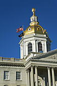 State Capitol, Concord, New Hampshire, New England, USA