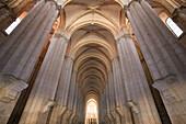 Santa Maria de Alcobaça Monastery UNESCO World Heritage, Alcobaça, Estremadura, Portugal