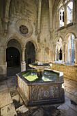 Cloister of Silence, Santa Maria de Alcobaça Monastery UNESCO World Heritage, Alcobaça, Estremadura, Portugal