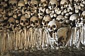 Bone Chapel Capela dos ossos, Ingreja de Sao Francisco, Evora UNESCO World Heritage, Alentejo, Portugal