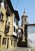 Old town  Hondarribia  Guipúzcoa province  Basque Country  Spain
