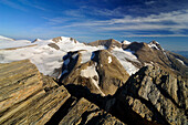 Fuscherkarkopf glacier, near Heiligenblut, Glockner Mountain Range, Hohe Tauern National Park, Carinthia, Austria