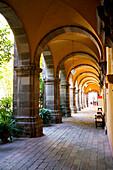 View through an old vault, Bellas Artes, San Migeul de Allende, Guanajuato, Mexico