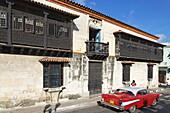 Casa de Don Diego Velazquez, the oldest House in Cuba, Parque Cespedes, Santiago de Cuba, Santiago de Cuba, Cuba, West Indies