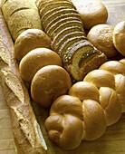 Freshly-baked bread.