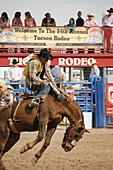 84th Annual Tucson Rodeo,  also know as Fiesta De Los Vaqueros,  in Tucson,  Arizona,  USA