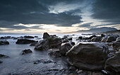 Calm, Dawn, Dusk, Elements, Landscape, Natural, Nature, Photography, Rocks, Sea, Seascape, Sunset, Water, Wild, A75-828821, agefotostock
