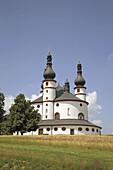 The pilgrimchurch of Kappl,  near Waldsassen,  Upper Palatinate,  Bavaria,  Germany