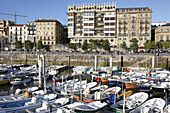 Port, San Sebastian. Guipuzcoa, Basque Country, Spain