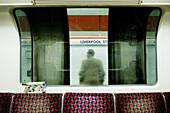 Liverpool Street Station, London underground, England, UK