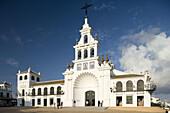 El Rocío village, Almonte. Huelva province, Andalusia. Spain