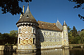 Chateau de St-Germain-de-Livet, Normandy, France
