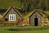 Old traditional farms of Skogar ecomuseum, South Iceland