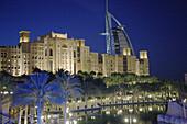 United Arab Emirates, Dubai, Burj al_Arab, Madinat Jumeirah hotels