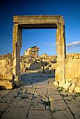Roman Ruins, Dougga, The Tell, Tunisia