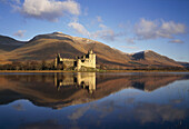 Scenic View, Kilchurn Castle & Loch Awe, Argyll, UK, Scotland