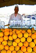 Orange Juice Stall, Marrakesh, Morocco