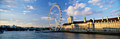 London Eye & County Hall, London, UK, England