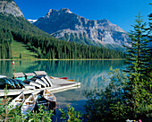 Emerald Lake, Yoho National Park, Alberta and The Rockies, Canada