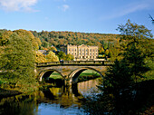 Chatsworth House in Late Summer, Bakewell, Derbyshire, UK, England