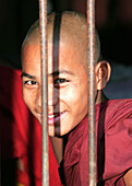 PORTRAIT OF A YOUNG BUDDHIST MONK, GENERAL, PEOPLE, BURMA