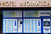 Automated Hotel Information, Sirmione, Lake Garda, Brescia province, Lombardy, Italy