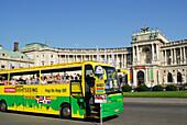 Sightseeing tour, Hofburg Imperial Palace, Vienna, Austria