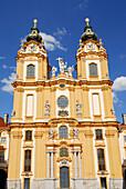 Monastery church, Melk Abbey, Wachau, Lower Austria, Austria