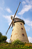 Outdoor photo, Day, Late summer, Windmill in Laer, Münsterland, Northrhine-Westfalia, Germany, Europe