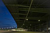 Tempelhof Airport, canopy roof, Berlin, Germany