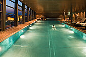 indoor swimming pool Grand Hyatt, Berlin Germany