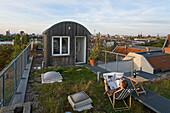 Rooftop studio, Berlin, Germany